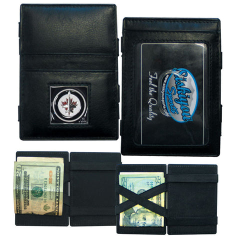 Winnipeg Jets™ Leather Jacob's Ladder Wallet