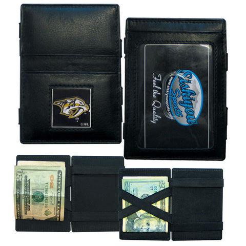 Nashville Predators® Leather Jacob's Ladder Wallet