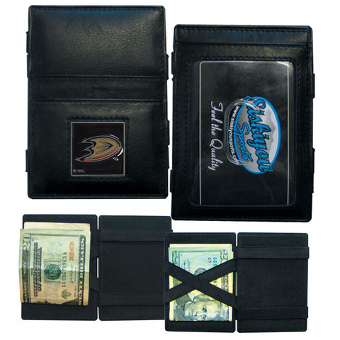 Anaheim Ducks® Leather Jacob's Ladder Wallet