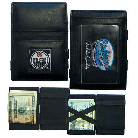 Edmonton Oilers® Leather Jacob's Ladder Wallet
