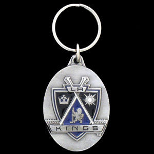 Los Angeles Kings® Carved Metal Key Chain
