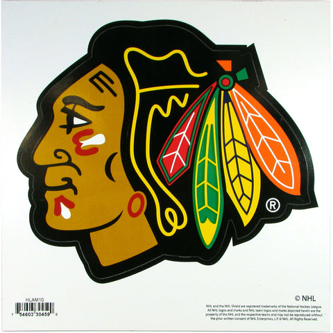 Chicago Blackhawks® 8 inch Logo Magnets