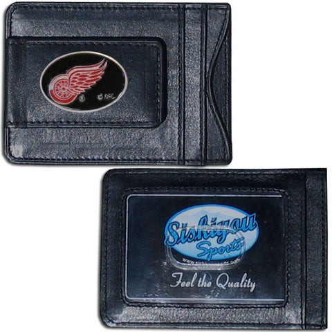 Detroit Red Wings® Leather Cash & Cardholder