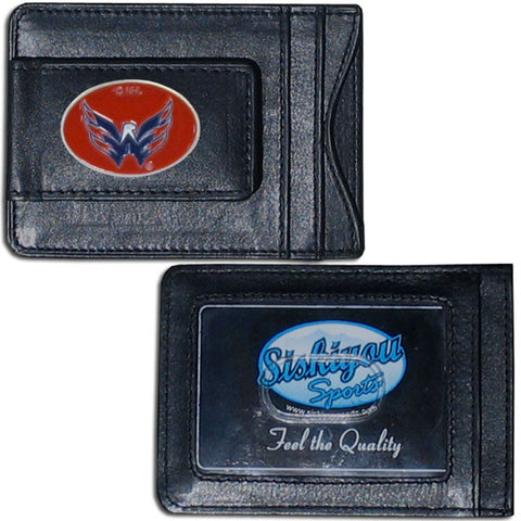 Washington Capitals® Leather Cash & Cardholder