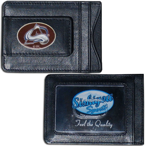 Colorado Avalanche® Leather Cash & Cardholder