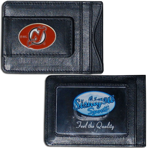 New Jersey Devils® Leather Cash & Cardholder
