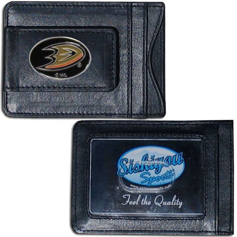 Anaheim Ducks® Leather Cash & Cardholder