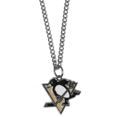 Pittsburgh Penguins® Chain Necklace with Small Charm