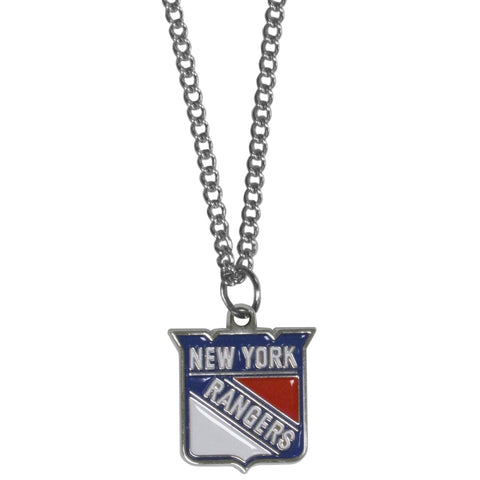 New York Rangers® Chain Necklace with Small Charm