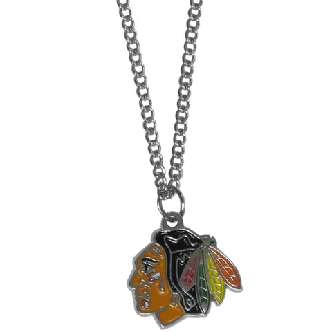 Chicago Blackhawks® Chain Necklace with Small Charm