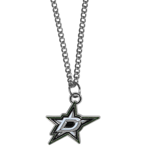 Dallas Stars™ Chain Necklace with Small Charm