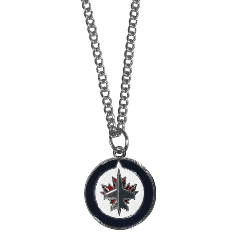Winnipeg Jets™ Chain Necklace with Small Charm