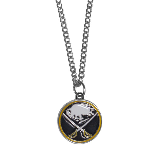 Buffalo Sabres® Chain Necklace with Small Charm