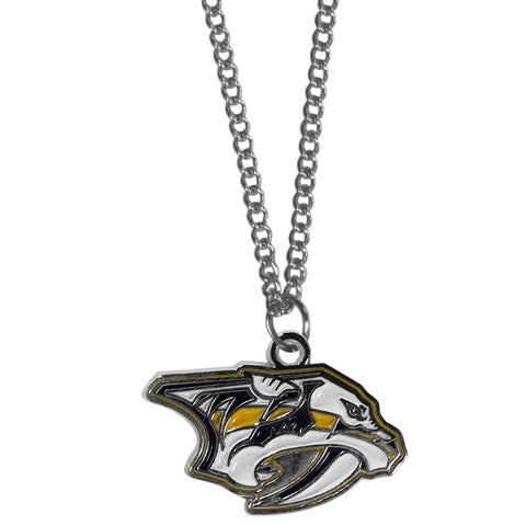 Nashville Predators® Chain Necklace with Small Charm