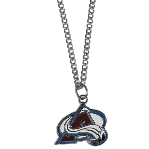 Colorado Avalanche® Chain Necklace with Small Charm