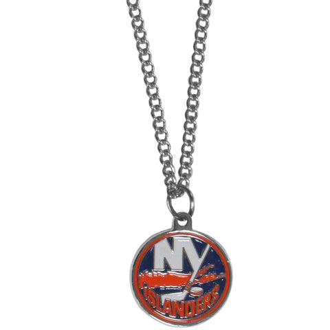 New York Islanders® Chain Necklace with Small Charm