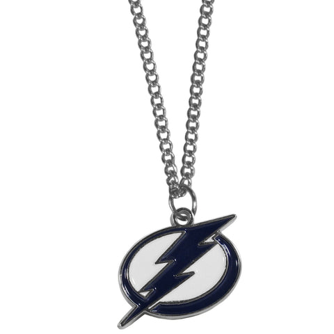 Tampa Bay Lightning® Chain Necklace with Small Charm