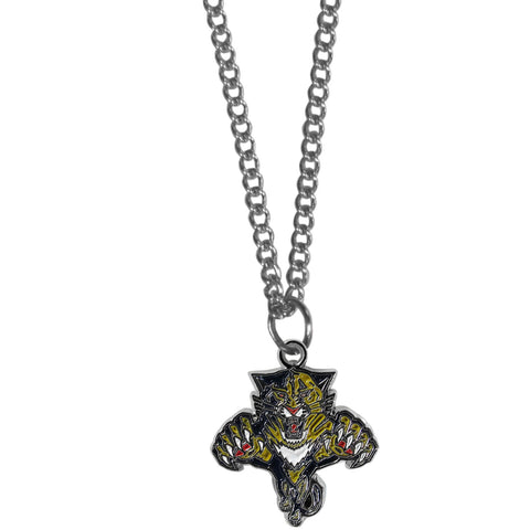Florida Panthers® Chain Necklace with Small Charm