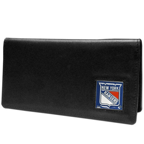 New York Rangers® Leather Checkbook Cover