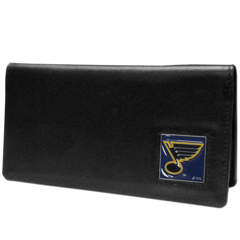 St. Louis Blues® Leather Checkbook Cover