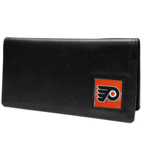Philadelphia Flyers® Leather Checkbook Cover