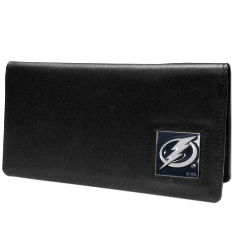 Tampa Bay Lightning® Leather Checkbook Cover