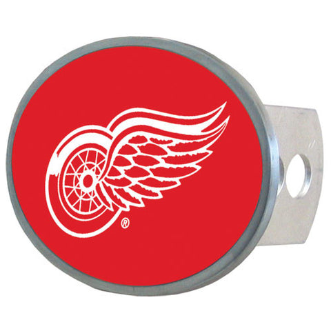 Detroit Red Wings® Oval Metal Hitch Cover Class II and III