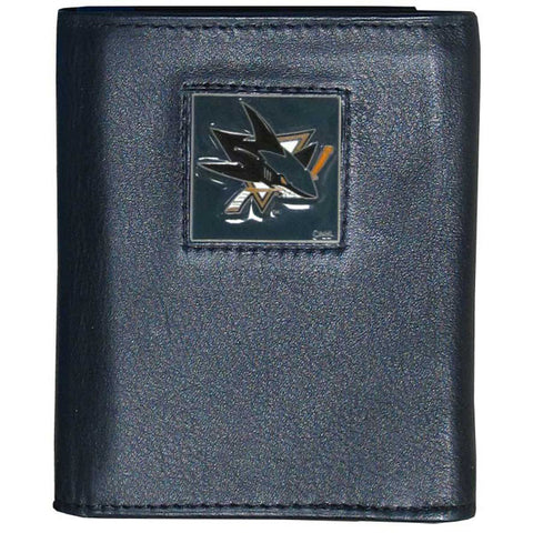 San Jose Sharks® Leather Tri-fold Wallet