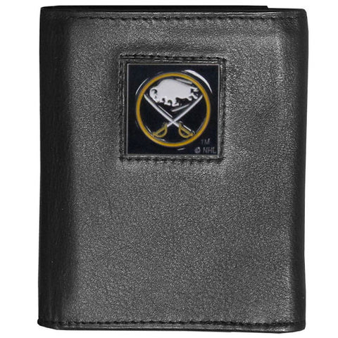 Buffalo Sabres® Deluxe Leather Tri-fold Wallet