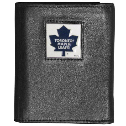 Toronto Maple Leafs® Deluxe Leather Tri-fold Wallet