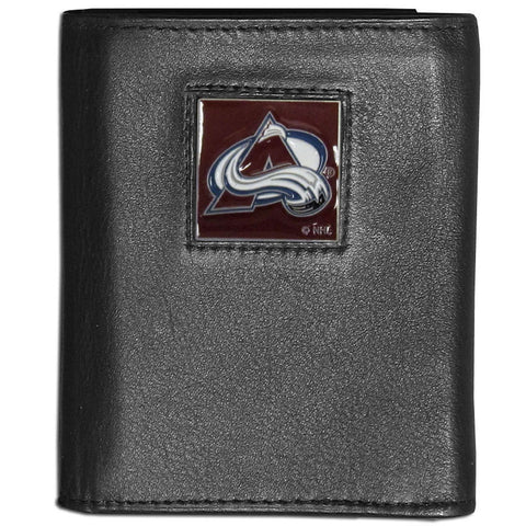 Colorado Avalanche® Leather Tri-fold Wallet