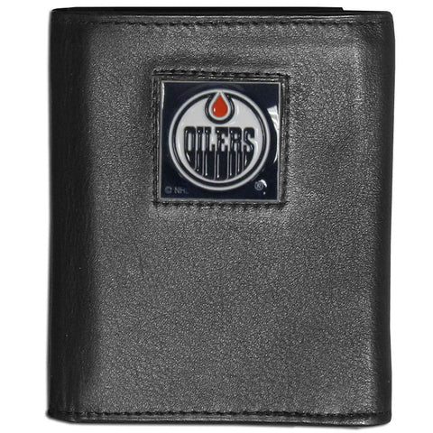 Edmonton Oilers® Leather Tri-fold Wallet