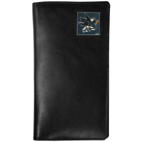 San Jose Sharks® Leather Tall Wallet