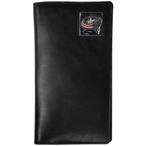 Columbus Blue Jackets® Leather Tall Wallet