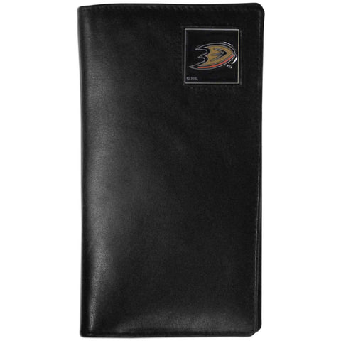 Anaheim Ducks® Leather Tall Wallet