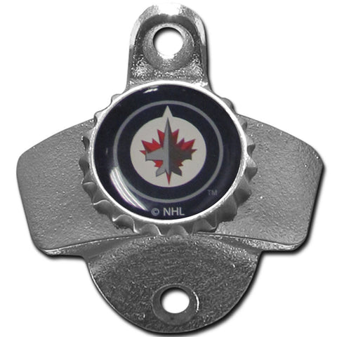 Winnipeg Jets™ Wall Mounted Bottle Opener