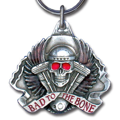 Key Ring - Bad To The Bone