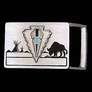 Arrowhead Small Belt Buckle