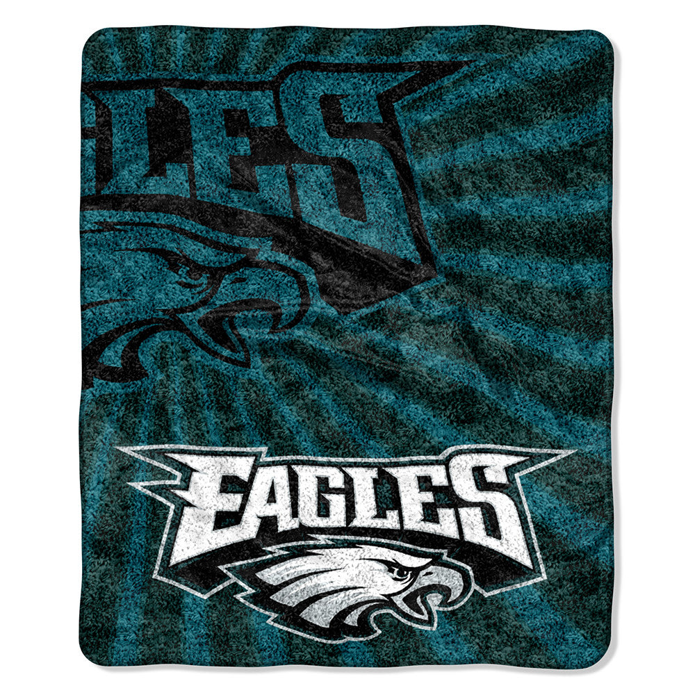 Philadelphia Eagles NFL Sherpa Throw (Strobe Series) (50in x 60in)