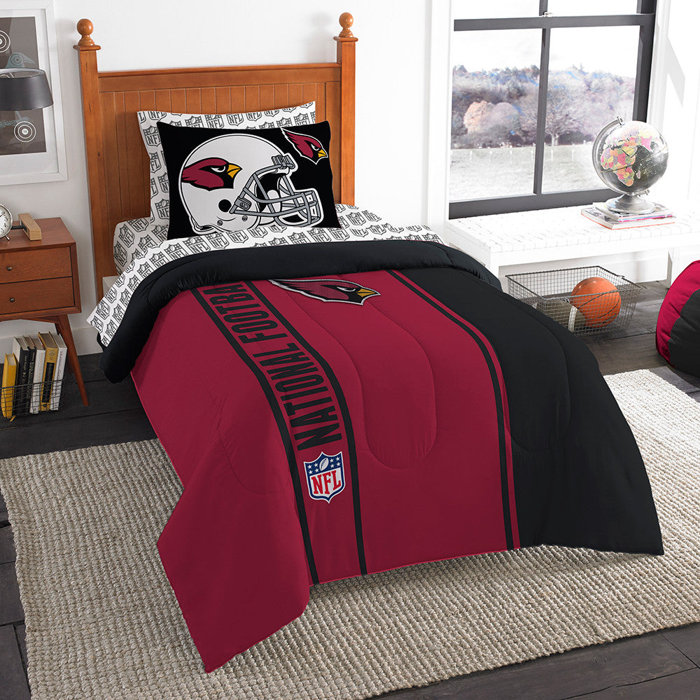 Arizona Cardinals NFL Twin Comforter Bed in a Bag (Soft & Cozy) (64in x 86in)