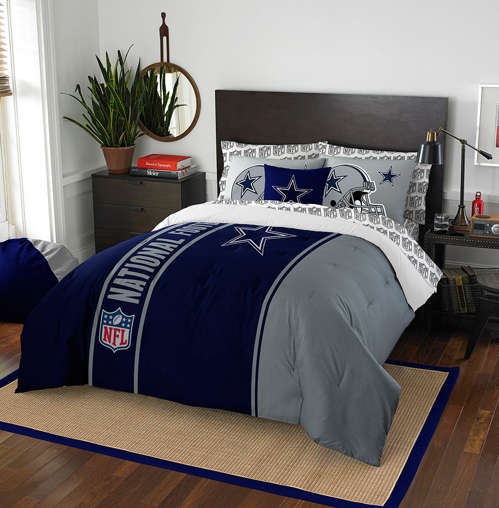 Dallas Cowboys NFL Full Comforter Bed in a Bag (Soft & Cozy) (76in x 86in)