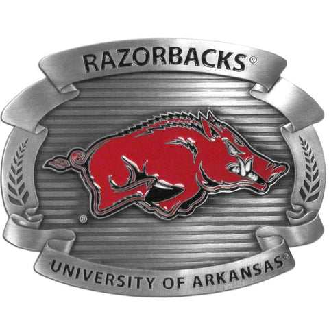 Arkansas Razorbacks Oversized Belt Buckle
