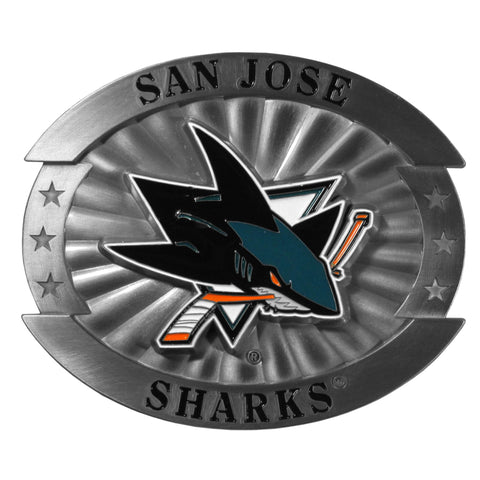 San Jose Sharks® Oversized Belt Buckle