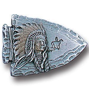 Collector Pin - Arrowhead Indian Chief