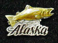 Collector Pin - Alaska Salmon
