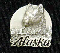 Collector Pin - Alaska Dog Team
