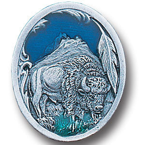 Collector Pin - Bison and Feather
