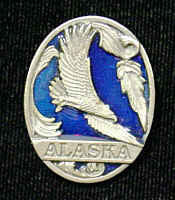 Collector Pin - Alaska Eagle