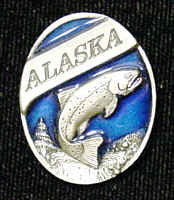 Collector Pin - Alaska Trout