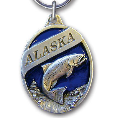 Key Ring - Alaska Trout